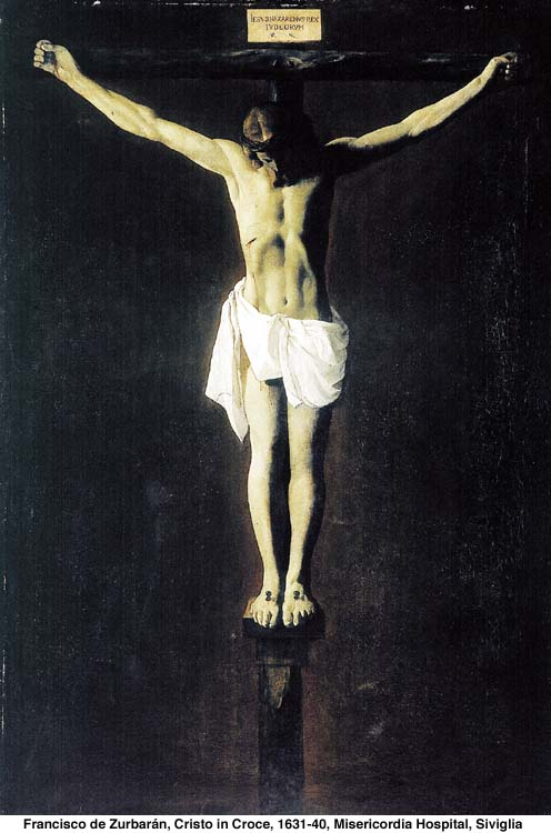 The Crucifixion by Zurbaran